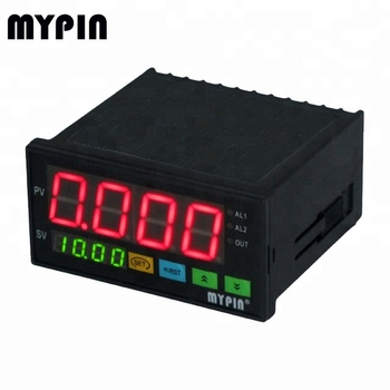 12V Battery powered Load cell meter with High/Low relay alarm(LM8E-RND)