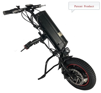 Electric Handcycle Bike Attachment For Wheelchairs With Battery 36V 350W hot sale