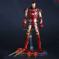 "Crazy Toys Figure Marvel 6"" Ironman Mark43 1/12 scale Toy action figure"