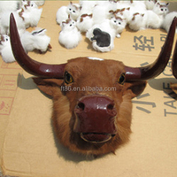 realistic wholesale christmas replica head wall taxidermy