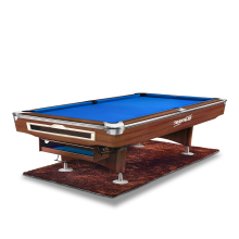 Wood Grain Billiard Table 9ft Pool Strong Frame and legs