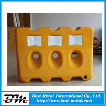 High quality water filled barriers used accident cars low cost barrier