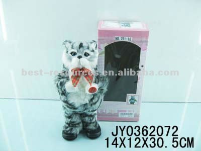 Battery cat operated toy battery operated animated cats dancing animals