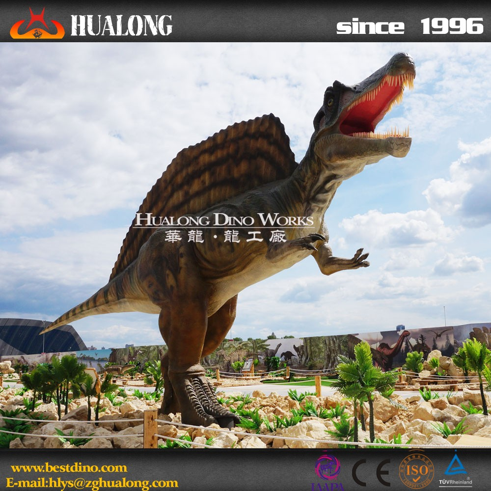 Attractive mechanical simulation dinosaur for children in hot sales