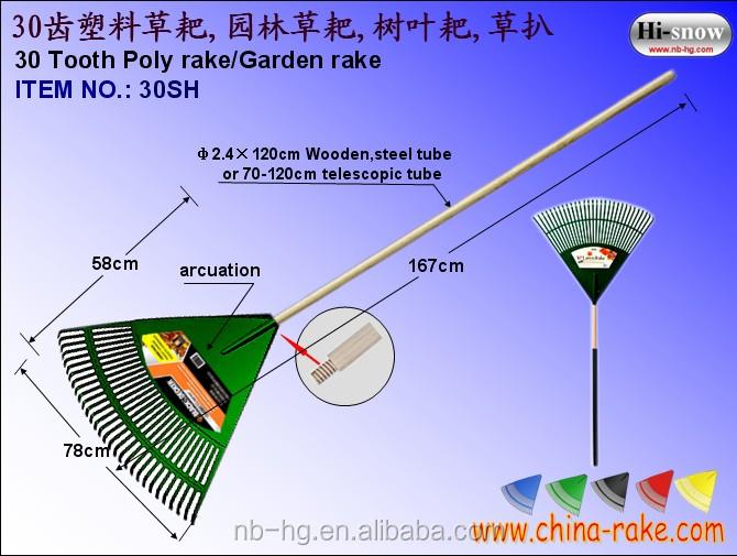 Large garden rake with long handle buy garden rake for Gardening tools jakarta
