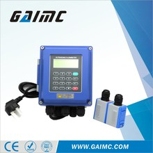 GUF120-W Clamp on transducer Wall-mounted ultrasonic flow meter