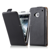 Best Folio Flip Cover Leather Cellphone Case For HTC One M7