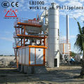 LB1000 asphalt mixing machinery of 80 t/h