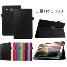 2016 leather tablet flip case for Samsung Galaxy Tab E 9.6'' T560,for Samsung Tab E T560 cover
