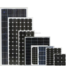 High quality tempered glass PV solar panel 5w to 300w for solar system