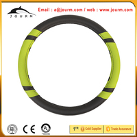 genuine leather car steering wheel cover for toyota corolla ke30 parts