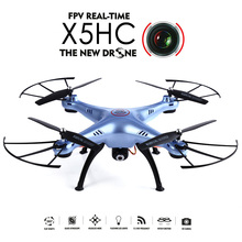 2018 Latest Original SYMA X5HC Drone 4-CH 2.4GHz 6-Axis With 2MP HD Camera AUTO Hovering Headless Mode RC Drone Quadcopter Helic