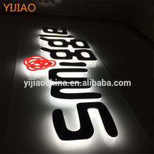 Custom Large Alphabet 3d Plastic Acrylic Letters For Storefront