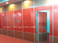 Customized soundproof movable partition with door