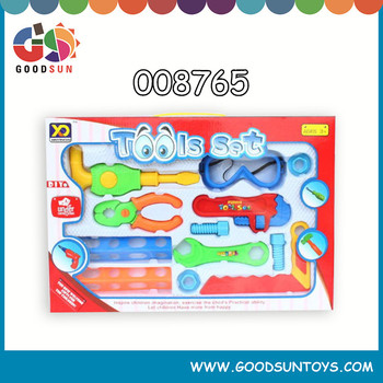 Kids Play Bricolage Tool Toy With Music And Light
