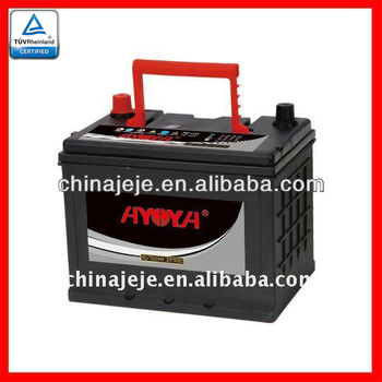 Best Maintenance Free Car Battery MF75D23L 12V65AH