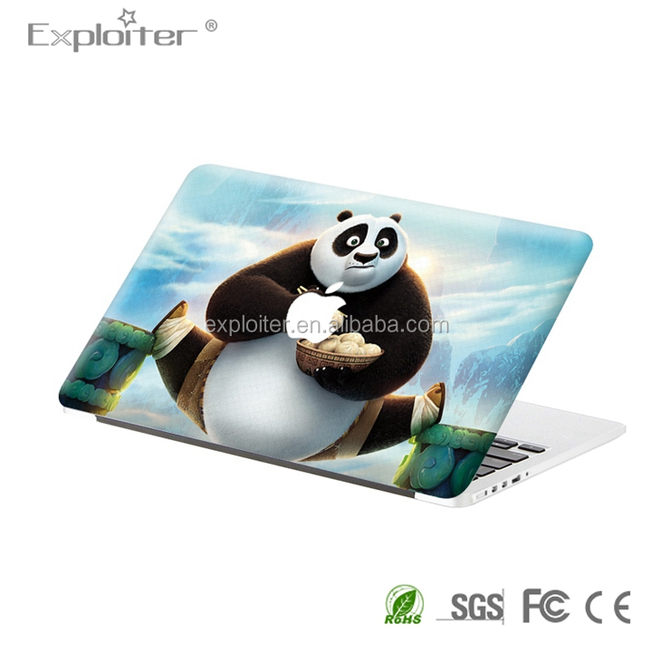 Removable 3m vinyl self adhesive computer skin for macbook 13.3 retina decal