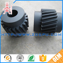 Customized non-standard delrin double helical gear