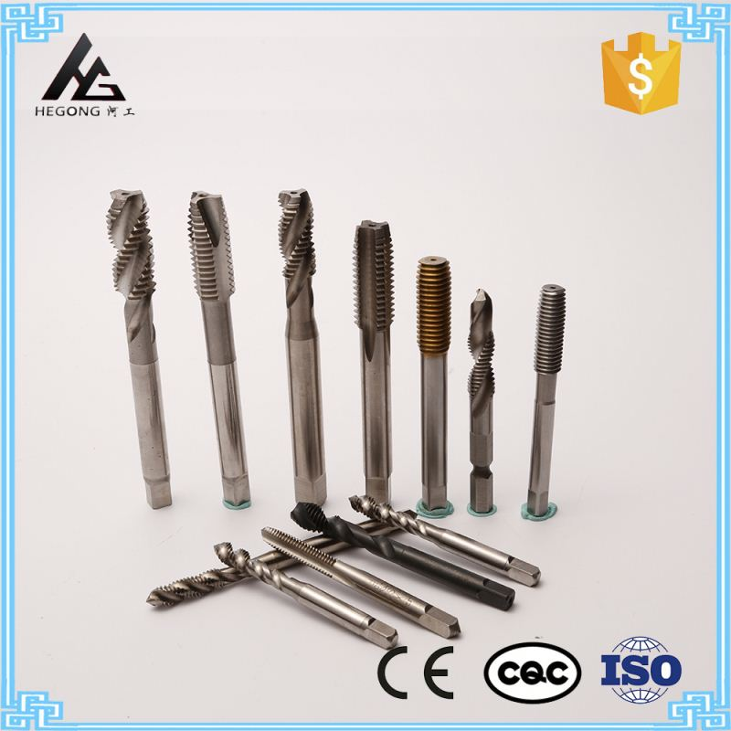 Square Hole Drill Bit Carbide Cutting Tool Self Screw Tap