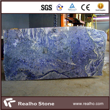 Luxury Decor Sodalite Blue Granite Stone Slabs