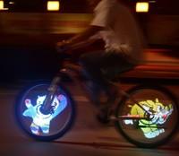 128 DIY LED Bike Wheel Light For Sale