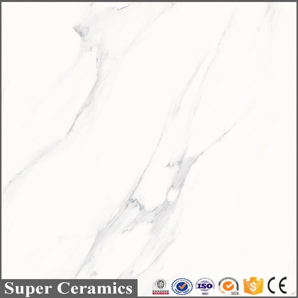 super white different types of cheap marble floor ceramic tile