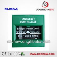 Green Color exit button emergency break glass (DH-K806)