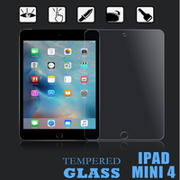 9h hardness clear Tempered glass screen protector for ipad mini 1/2/ 7 inch tablet / matte Tempered glass for Ipad mini 1/2/3/4