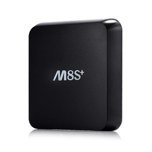 1CHIP Android tv box m8s plus with BT 1000M LAN Amlogic S812 Quad Core kodi14.2 smart tv media player beter than m8s cs918