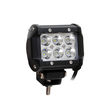 Most popular 4inch 18w work led light bar for tractor off road atv utv truck cars color box packing
