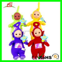 E319 Yellow, Green, Red, Blue Soft Baby Stuffed Teletubbies Plush Toys