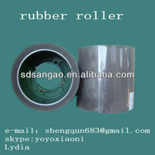 rubber roller for rice mill green NBR 6 inch factory hot selling
