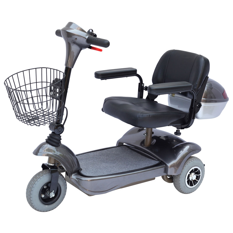 Hot sell 4 wheel electric mobility scooter with shopping cart