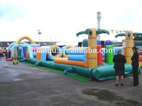 adult inflatable obstacle course/outdoor playground for sale