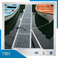 HDG Steel Pontoon Floating Dock with Floater and steel grid decking