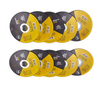 "500PC - 4.5"" T41 flat industrial abrasive cutting disc for grinder"