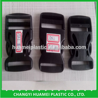 Plastic backpack insert buckle for sale