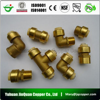 cUPC NSF approved High Quality Lead Free Brass pipe Fitting for USA Market