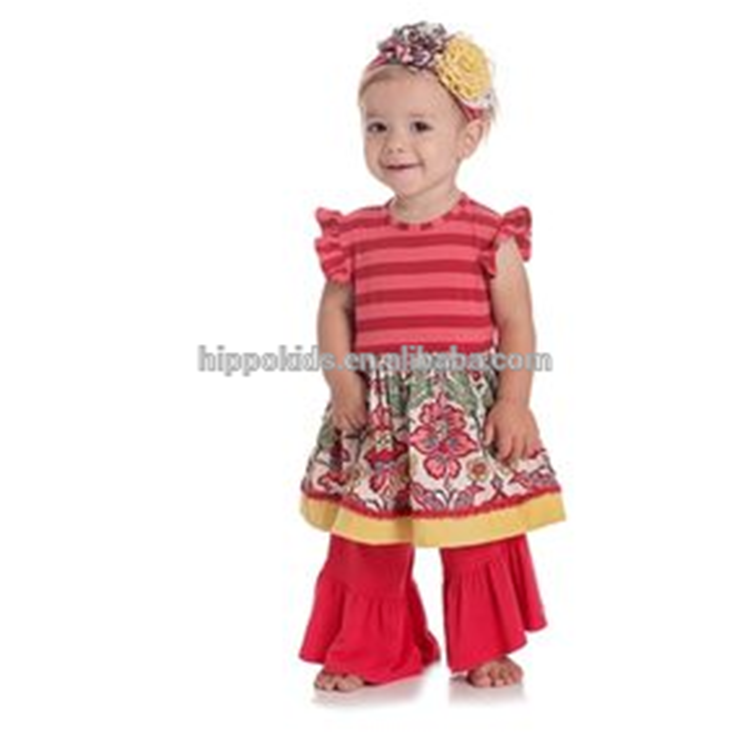 girls ruffle clothes newborn baby clothes girls boutique outfit