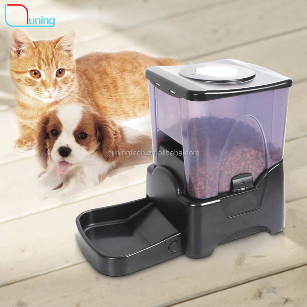 Hot 4 Meal LCD Automatic Pet Feeder Timed Cat Food Dispenser