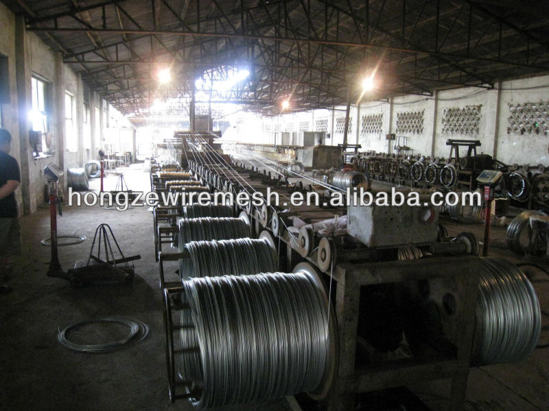 wholesale gi binding wire/18 gauge binding wire specifications with good price