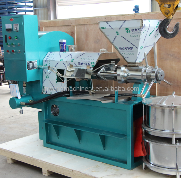Domestic Cotton seed oil making machine/screw hot cottonseed oil processing machine with specification