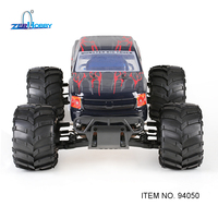 RC CAR HSP SHELETON 1/5 GAS POWERED 4X4 OFF ROAD RTR MONSTER TRUCK 30CC ENGINE (item no. 94050)