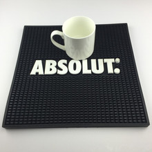 Promotional square soft PVC bar counter mats