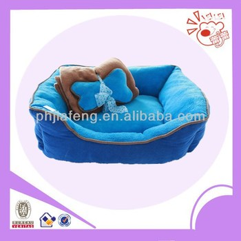 comfortable pet dog bedding ,bone and blanket