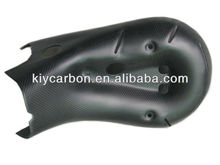 Carbon exhaust cover for Ducati Panigale 1199 2012