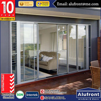 Wholesale AS2047 aluminum insulated double glazed main door designs home