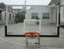 high quality 12mm tempered glass backboard with FIBA