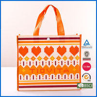 Laminated Non Woven PP Shopper Bag With New Design