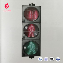 Red Green Countdown Timer led traffic lights sign